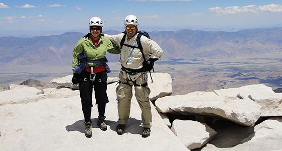 Roy & Martha Climbing