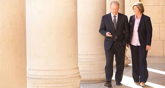 Roy & Martha Walking