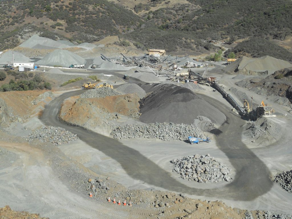 Granite Construction Mining Permits